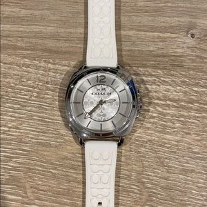 Coach Watch-Stainless Steel & Water resistant